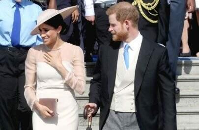Meghan Markle e Príncipe Harry fazem primeira aparição pública