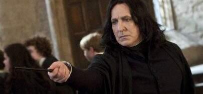 """Alan Rickman se sentia frustrado de interpretar Snape nos filmes de """"Harry Potter"""""""