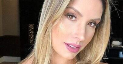 Grávida, esposa de Wesley Safadão, Thyane Dantas, faz ensaio e surpreende