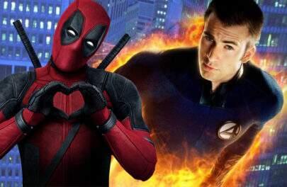 """Chris Evans quase viveu o Tocha Humana de novo em """"Deadpool 2"""""""