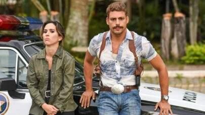 """Tatá Werneck e Cauã Reymond trocam declarações após beijo em filme: """"Com todo o respeito, Rafael Vitti"""""""