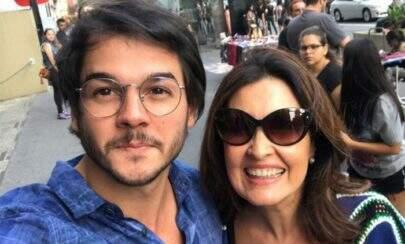 Fátima Bernardes responde comentário de que Túlio poderia ser seu filho