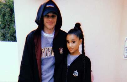 Revista afirma que Ariana Grande está noiva do namorado