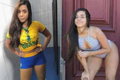 Gêmea Lacração Mariely Santos posa em ensaio e faz sucesso
