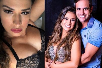 Marido de Simone reage após cantora publicar fotos sensuais de lingerie