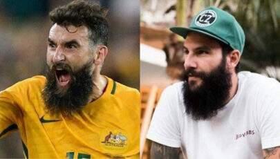 Jogador da Austrália chama atenção por semelhança com Wagner do BBB 18