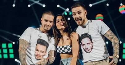 Anitta avisa que Liam Payne está vindo para o Brasil e fãs ficam loucos