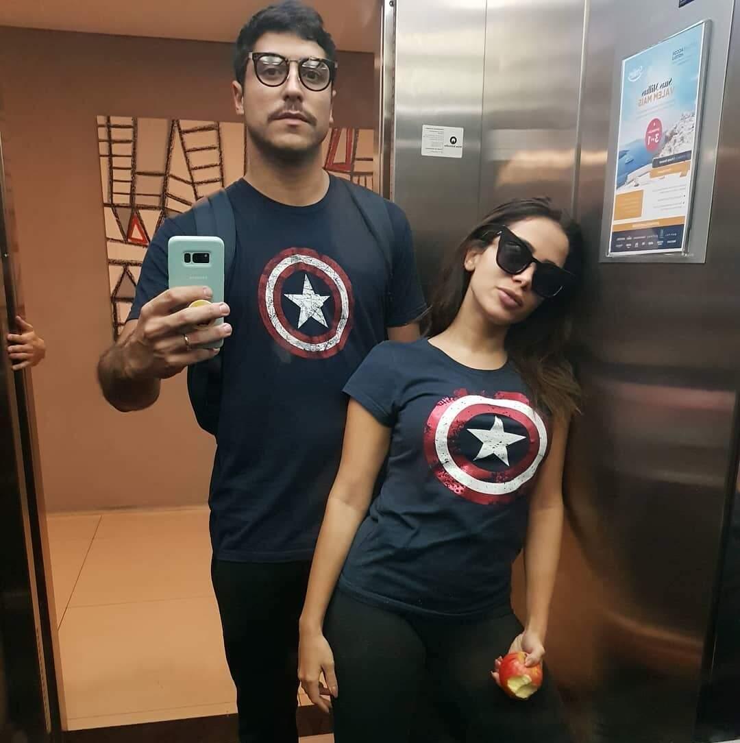 Selfie Thiago Magalhães e Anitta