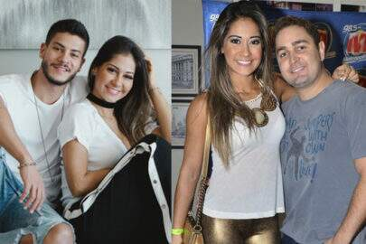 Casada com Arthur Aguiar, Mayra Cardi comenta foto de ex-marido