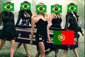 Já é Copa! A nova Guerra dos Memes entre Brasil e Portugal bombou o Twitter