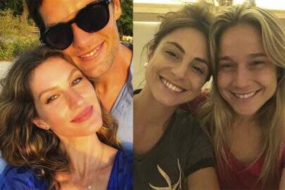 De Gisele a Fernanda Gentil, famosos se declaram no Dia dos Namorados