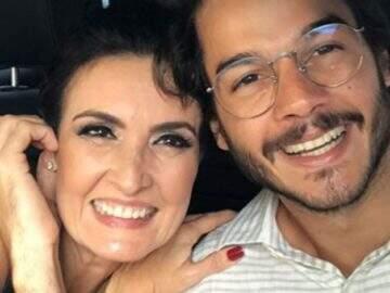 Fátima Bernardes revela onde rolou o primeiro beijo com Túlio Gadêlha