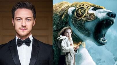 """Confirmado James McAvoy no elenco da série inspirada em """"A Bússola de Ouro"""""""