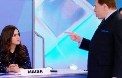 """""""Você parece vizinha fofoqueira"""", dispara Maísa sobre Silvio Santos"""