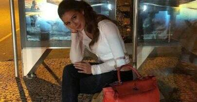 Gente da gente! Marina Ruy Barbosa comemora aniversário na feira