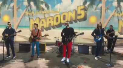 Maroon 5 faz cover de música do Bob Marley e lança clipe incrível