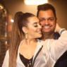 Naiara Azevedo publica foto no banho com o marido e se declara