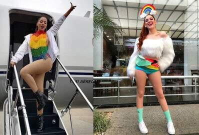Celebridades arrasam nos looks para a Parada LGBT em São Paulo
