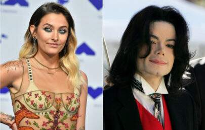 Paris Jackson limpa estrela na calçada da fama de Michael Jackson que não é seu pai