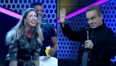 """Tati Minerato comemora prêmio que não ganhou no """"Power Couple"""" e gera climão"""