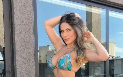 Três meses após dar à luz, ex-BBB Renatinha surpreende com corpão
