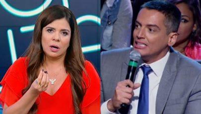 Após polêmica, Leo Dias ameaça deixar o 'Fofocalizando' ao vivo