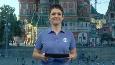 Sandra Annenberg passa mal e precisa de atendimento médico na Rússia