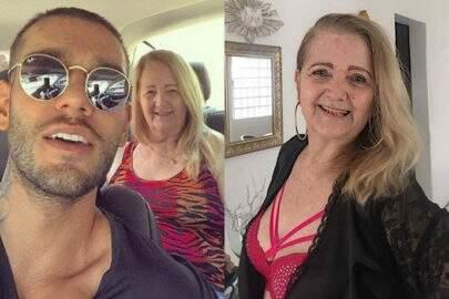 Avó de Lucas Lucco posa de lingerie aos 73 anos e chama atenção na web