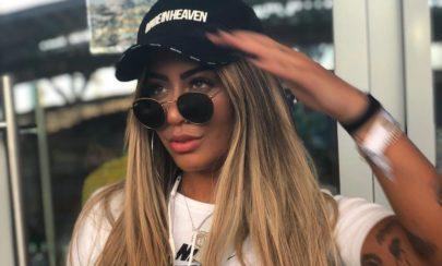 Rafaella Santos surpreende e aparece com novo visual em leilão do Instituto Neymar