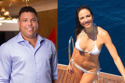 Luciana Gimenez aparece ao lado de Ronaldo, fã sugere romance e apresentadora reage