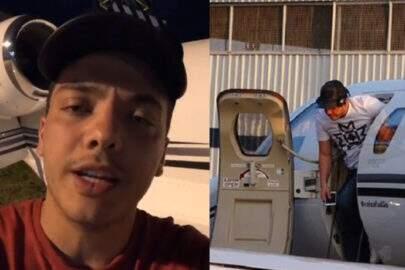 Avião de Wesley Safadão sofre problemas e cantor divulga vídeo
