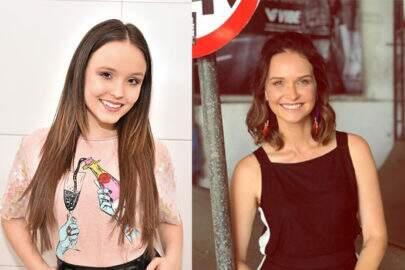 """Mãe de Larissa Manoela coloca atriz ao lado de Fernanda Rodrigues: """"Quem é quem?"""""""
