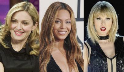 Madonna, Beyoncé e Taylor Swift aparecem na lista de mulheres mais ricas dos Estados Unidos