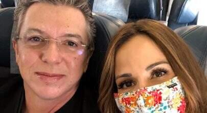 """Em tratamento contra câncer, Ana furtado elogia Boninho: """"Melhor amigo e apoiador"""""""
