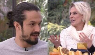 Romulo Estrela fica sem graça com pergunta de Ana Maria Braga sobre Bruna Marquezine