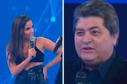 Anitta protagoniza climão ao vivo durante programa do Datena