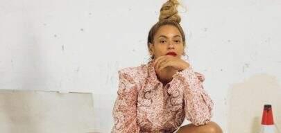 Beyoncé aparece em foto rara com os filhos gêmeos, Rumi e Sir Carter