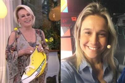 Ana Maria Braga 'manda' indireta para Fernanda Gentil mostrando 'sapatão' e jornalista reage