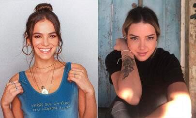 Fãs piram com fotos de Bruna Marquezine e Carol Dantas juntas no aniversário do Davi Lucca