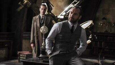 """Jude Law dá mais detalhes sobre o Dumbledore que veremos em """"Animais Fantásticos 2"""""""
