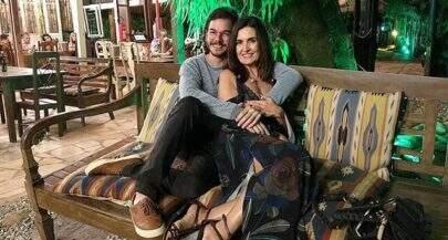 """Após espetáculo, Fátima Bernardes posa com Túlio Gadêlha: """"Muito bom falar de amor"""""""