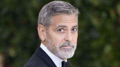 George Clooney sofre acidente durante gravações de nova minissérie