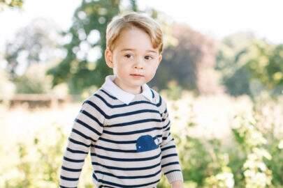 Família Real divulga foto oficial do aniversário do príncipe George