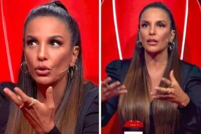 Ivete Sangalo revela por que está com dificuldades para andar no 'The Voice'