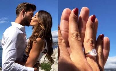 Izabel Goullart fica noiva de Kevin Trapp, goleiro da Alemanha
