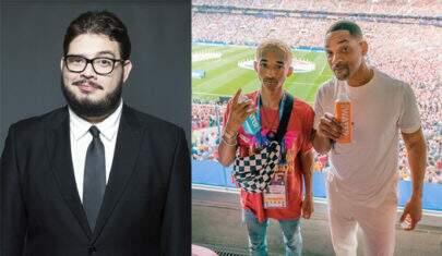 Blogueiro Jacaré Banguela posta tuíte racista sobre filho de Will Smith e gera polêmica