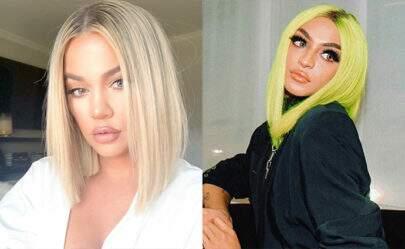 Khloe Kardashian publica selfie e é comparada com Pabllo Vittar