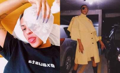 Após acidente, Pabllo Vittar aparece de tapa-olho em evento