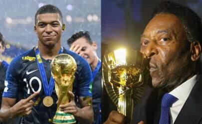 Após final da Copa do Mundo, Mbappé responde mensagem de Pelé e viraliza