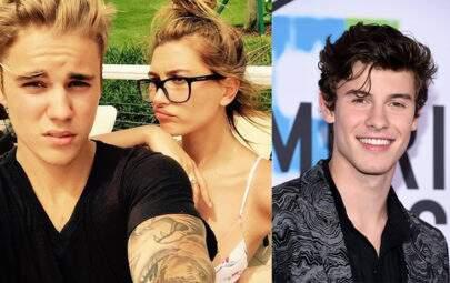 Shawn Mendes comenta sobre o noivado relâmpago de Hailey Baldwin e Bieber